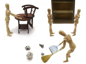 捨てる家具と新しく買う家具の予定を決めよう
